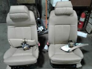 Both Front Seats Driver Passenger 05 2005 Bmw 745i Nice