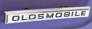 Oldsmobile Cutlass F 85 Script 1967 Grille Emblem Gm Oem Chrome 67 Badge 394425