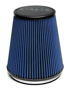 Airaid 700 463 Universal Cold Air Intake Filter Cone 6 Flg 7 1 4 B X 5 T 8 H