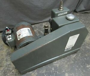 Welch 1400 Duo seal Vacuum Pump Franklin Electric 4401007413 115v 1 3 Hp Motor