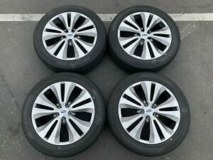 Four Take Off 2019 Subaru Ascent Factory 20 Wheels Tires Oem Rims 5x4 5