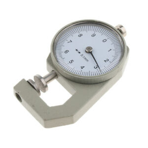 New 0 10mm Leather Thickness Gauge Accurate Measuring Instrument Leather Craft