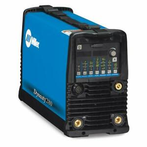 Miller Dynasty 280 Dx Tig Welder With Cps 907514 Brand New