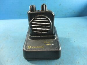 Motorola Minitor Iv Pagers With Charging Dock Used