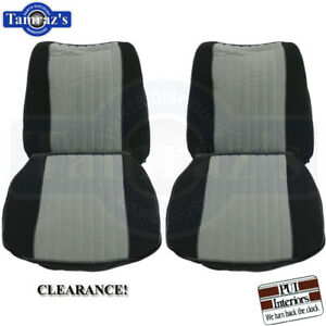 85 87 Gn Grand National Front Bucket Seat Covers Upholstery Clearance