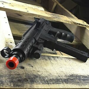 TEC 9 SPRING AIRSOFT TACTICAL SMG RIFLE GUN w LASER SIGHT 6mm BB BBs $17.95