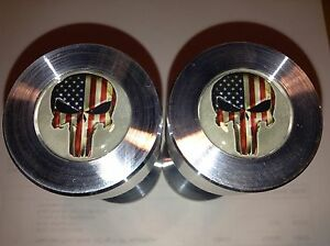 Two Hole Pins Standard Size Punisher American Flag 1 2 To 1 5 8
