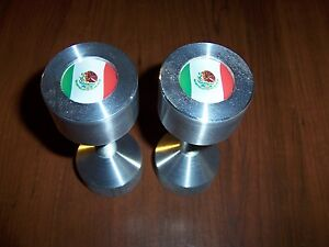 Two Hole Pins Standard Size Mexico Flag 1 2 To 1 5 8 Knurled