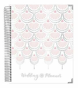 Bloom Daily Planners Undated Wedding Planner Hard Cover Day Organizer