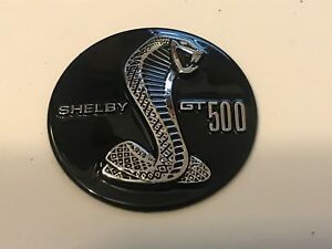 2010 2011 2012 2013 2014 Ford Mustang Shelby Gt500 Steering Wheel Center Emblem