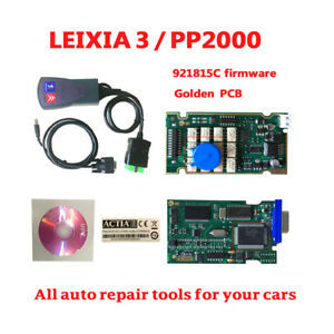 Pp2000 Lexia 3 V48 Lexia3 Newest Diagbox V25 Citr oen peugeot Diagnostic Scanner