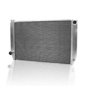 Griffin 1 26272 X Universal Fit Radiator 31 X 19 2 Row Crossflow Ford Style