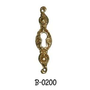 Keyhole Cover Cast Brass Antique Victorian Style Key Hole Cover Escutcheon