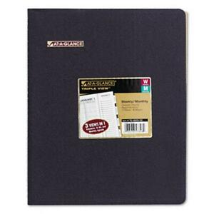 At a glance 70950v05 Triple View Professional Weekly monthly Appointment Book