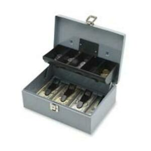 Sparco Products Spr15507 Cash Box 5 Compartments 11 38in x7 50in x3 38in