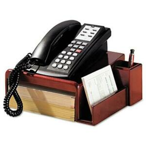 Eldon Office Products 1734646 Wood Tones Phone Center Desk Stand 12 1 8 X 10