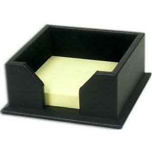 Dacasso A1075 Leather 3x3 Post it Note Holder