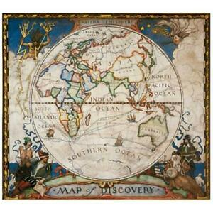 National Geographic Re00620548 Map Of Discovery Eastern Hemisphere Map