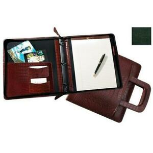 Raika Rm 179 Green 3 Ring Zipper Binder And Handle Green