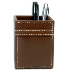 Dacasso A3210 Rustic Leather Pencil Cup