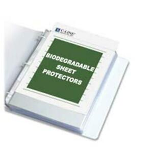 C line Products Inc Cli62617 Sheet Protectors Top load 11in x8 50in Re