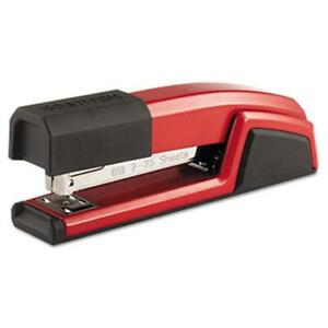 Stanley Bostitch B777 red Antimicrobial Full Strip Metal Stapler 25 sheet Cap