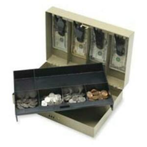 Sparco Products Spr15508 Combination Lock Cash Box Steel 11 50in x7 75in