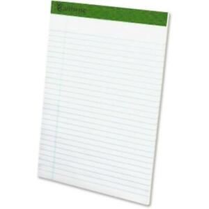 Tops Products 20172 8 5 X 11 75 In Earthwise Recycled Writing Pad White