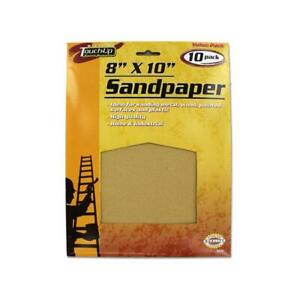 Bulk Buys Ab006 25 8 X 10 Brown Paper Sandpaper Pack Of 25