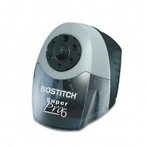 Stanley Bostitch Eps12hc Superpro 6 Commercial Electric Pencil Sharpener Gray