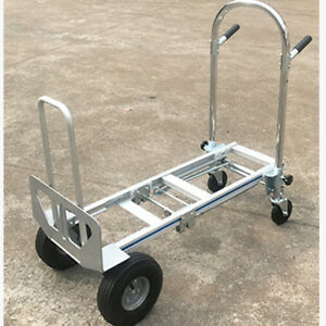 3 In 1 Versatile Hand Truck Move Cargo Swiftly And Safely Aluminum Folding Cart