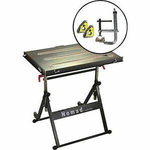 Strong Hand Tools Welding Table W magspring Clamp Mini Magnet Twin Pack