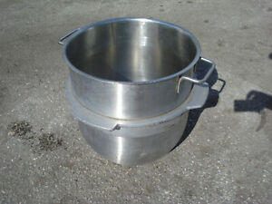 40qt Stainless Steel Bowl Hobart Mixer R40 29 17x16 Commerical Kitchen Bakery