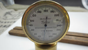 Antique Dr Rogers Tycos Sphygmomanometer Pat 1915 1917 Made In Usa