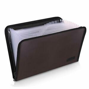 Expanding File Folder Important Document Organizer Fireproof And Waterproof