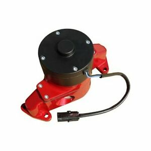 Proform Water Pump Electric 35 Gpm Aluminum Red Ford Sb Includes Hose Adapter