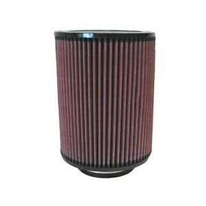 K N Air Filter Element Round Straight Cotton Gauze Red 4 Dia Inlet Rd 1460