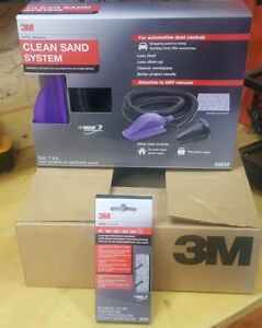 New Complete 3m 03209 Clean Sand Kit System 03210 Block 03216 Paper Brand Nib