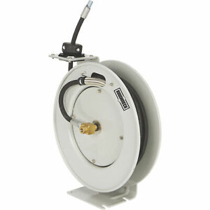 Roughneck Oil Hose Reel With 1 4in X 25ft Hose