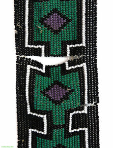 Ndebele Beaded Wedding Veil Rare South African Art