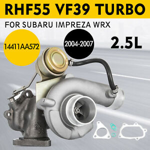 Oem Turbocharger Vf39 For 04 07 Subaru Impreza Wrx Sti Dohc 2 5l Turbo Vc440028