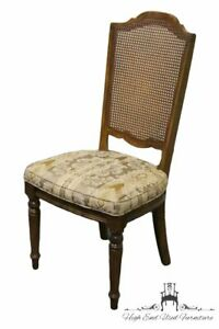 Ethan Allen Classic Manor Cane Back Side Chair 15 6012