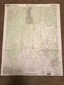 Fort Bayard New Mexico Nm Usgs Topographic Map Topo 7 5 Minute Grant Santa Clara