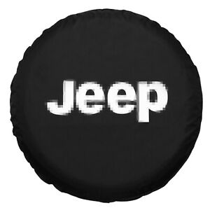 15inch Car Spare Wheel Tire Cover For Commander Compass Black