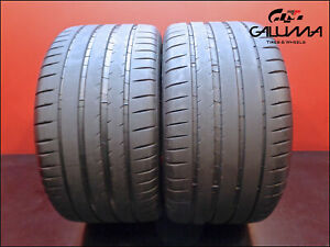 2 Two Tires Excelent Michelin 315 35 20 Zr Pilot Sport 4 110y Panamera 49337