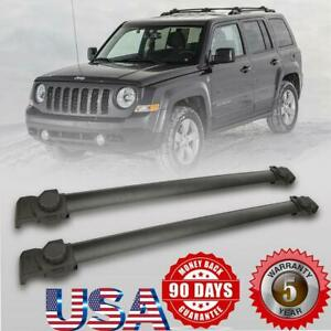 For 2007 2017 Jeep Patriot Roof Rack Cross Bar Cargo Carrier Oem Replacement Us