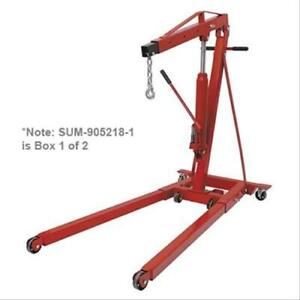Engine Hoist Cherry Picker Box 1 Of 2 Each