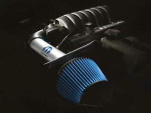 Air Intake Cold Air Blue Filter Silver Powdercoated Aluminum Tube Dodge 1 4l Kit