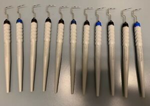 Hu friedy Perio Probes Right Angle Design Single Ended Lot Of 11