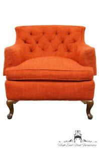 Henredon Mid Century Upholstered Accent Arm Chair